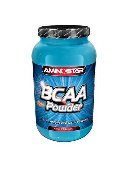 Výsledek obrázku pro Aminostar BCAA Powder 300g
