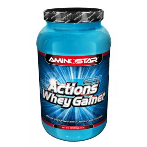 Whey Gainer Actions